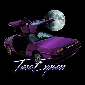 TASE Express DeLorean by tase