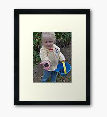 Berry Proud Framed Print