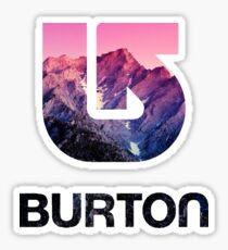 Burton Snowboards Pink Sticker