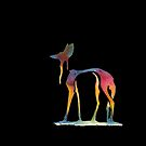 Maned Wolf Drip by LauraGarabedian