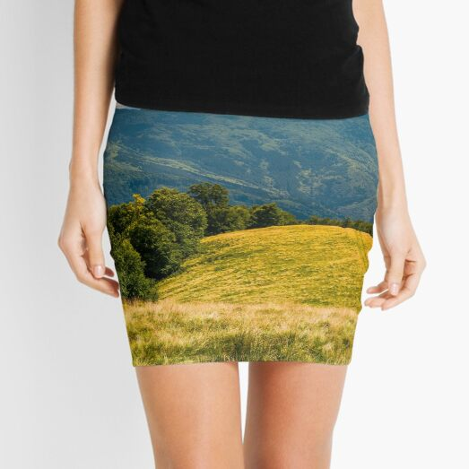 beech forests of Carpathian mountains Mini Skirt