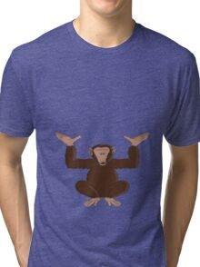 Just happy to be able to provide support Tri-blend T-Shirt