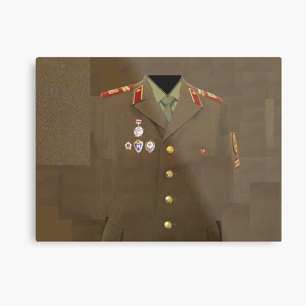 Soviet army Metal Print