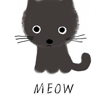 Graue Kitty von ShortCoffee