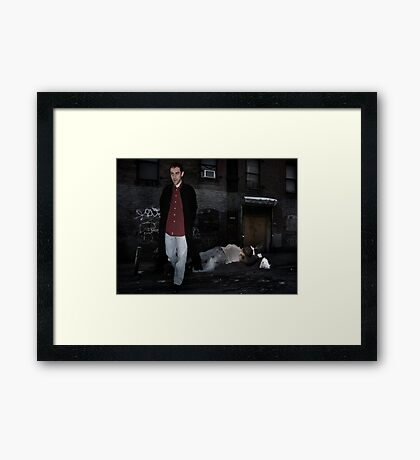 Cain And Abel Framed Print