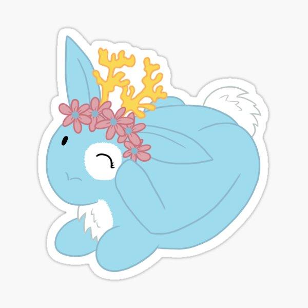 Blue Spring Festival Jackalope Sticker