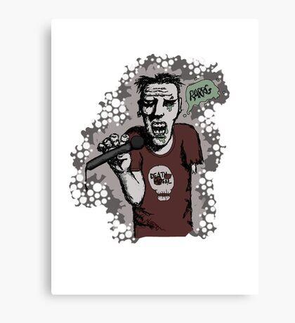 Zombi-oke Canvas Print