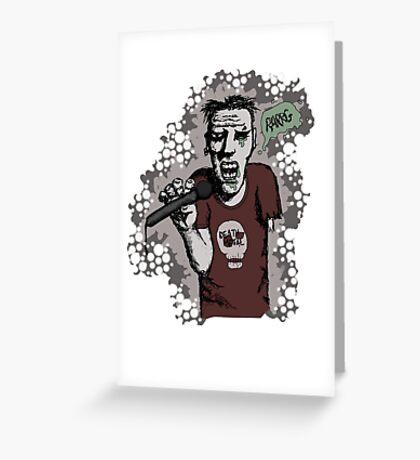 Zombi-oke Greeting Card
