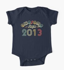 5th Birthday Gift Vintage 2013 Year T-Shirt One Piece - Short Sleeve