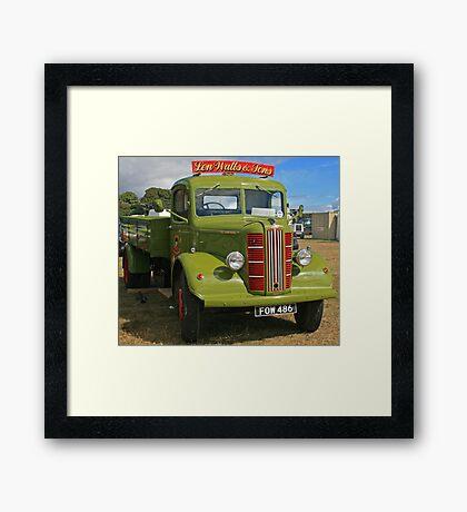 Austin K4 Truck Framed Print