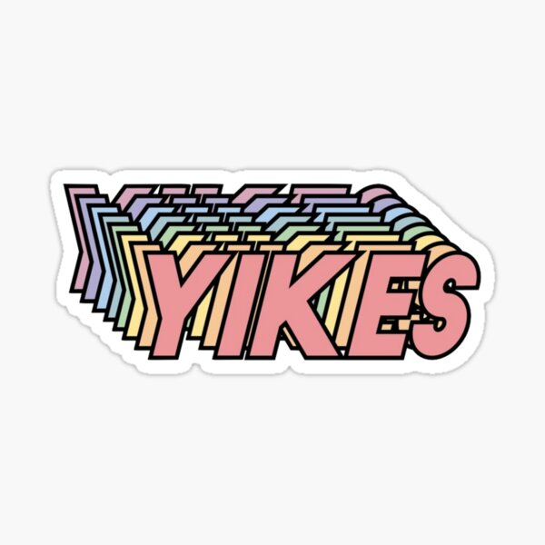 Yikes! Sticker