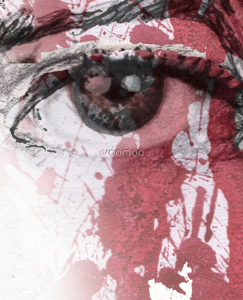 your blood in my eye by voomoo