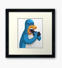 Penguin club  Framed Print
