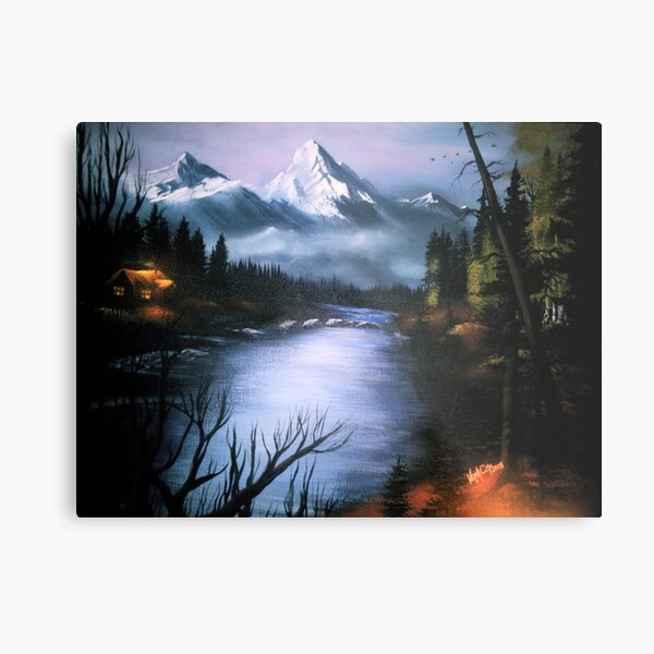 Alaskan Autumn Metal Print
