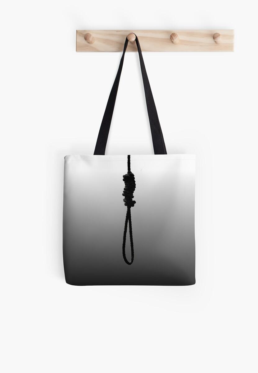 blackbear cashmere noose tote bags by ryanmckane redbubble