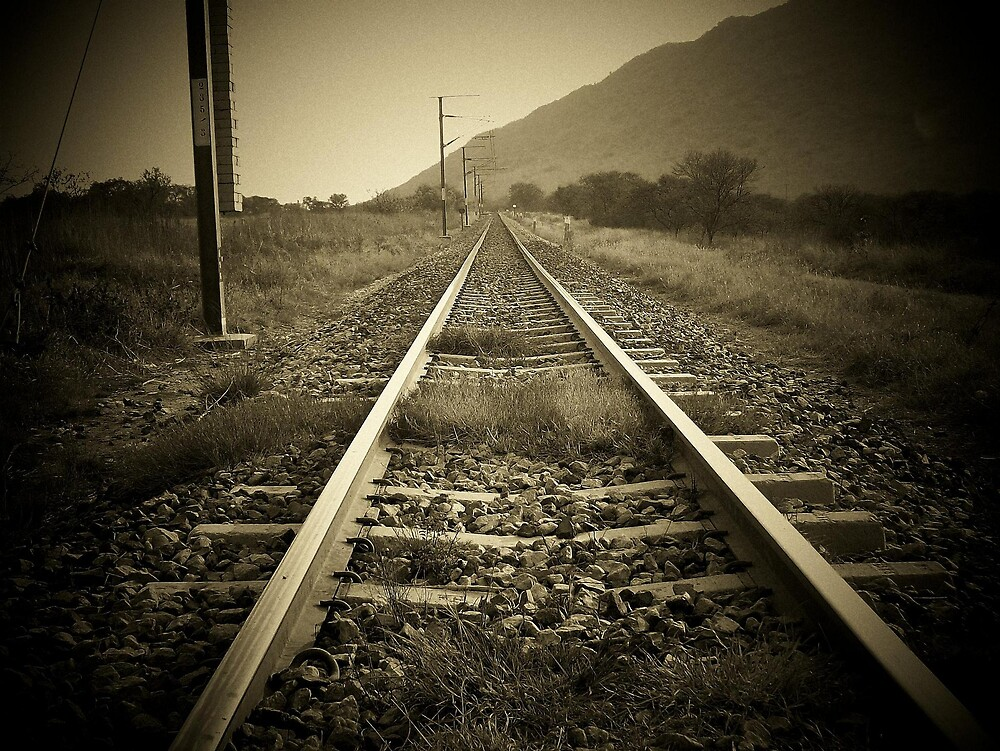 Railway by Andre Engelbrecht