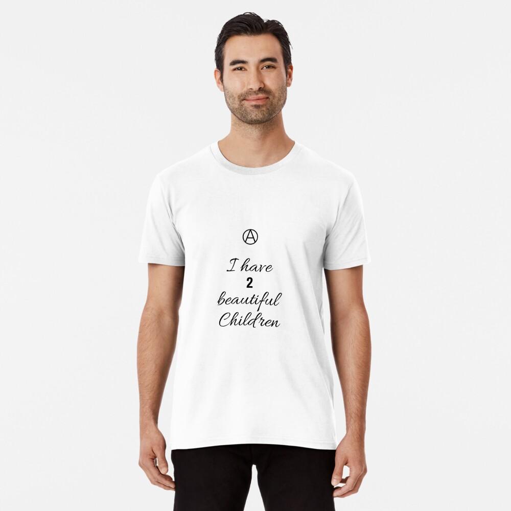 2 Beautiful Children Premium T-Shirt