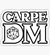 Carpe DM Sticker