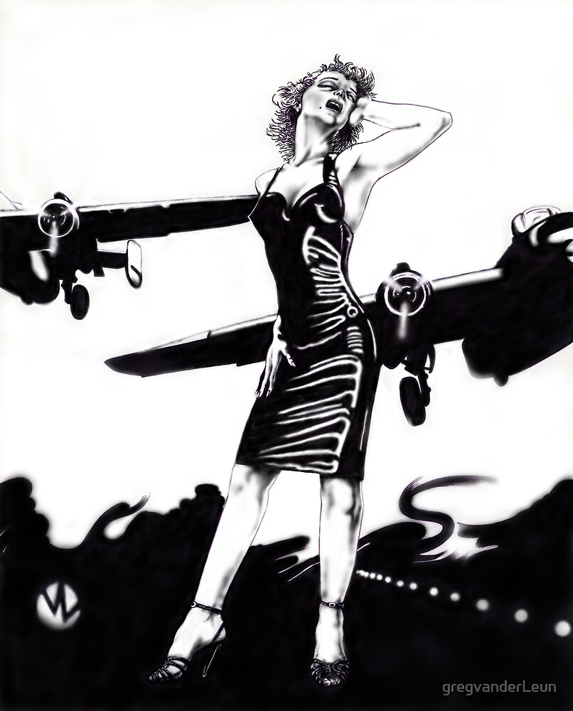 Marilyn Bomber by gregvanderLeun