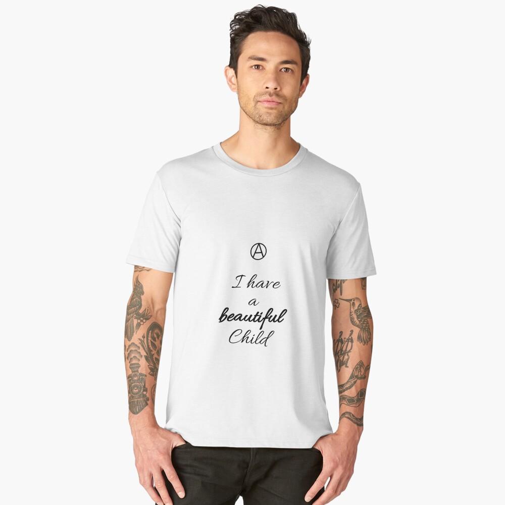 A Beautiful Child  Men's Premium T-Shirt Front