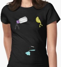 Lick, Sip, Suck Women's Fitted T-Shirt