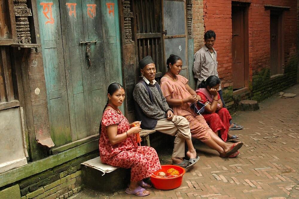 Nepal, locals by Rowan Herring