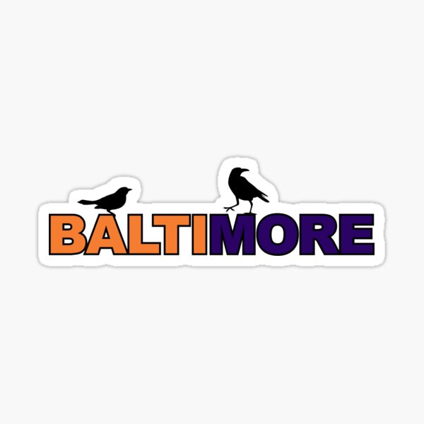 Baltimore Birds Sticker