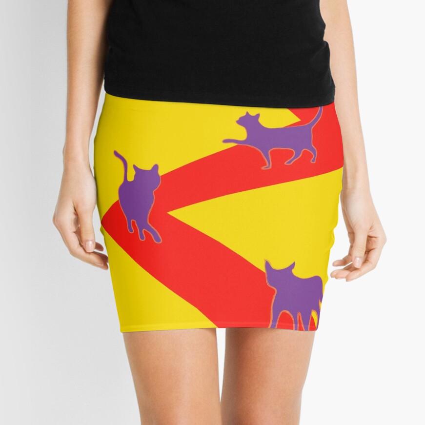 catwalk does pop art Mini Skirt