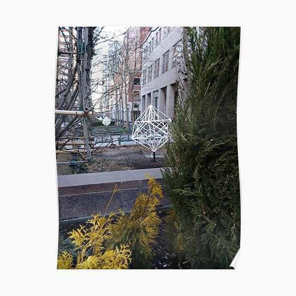 Street, City, Buildings, Photo, Day, Trees Poster