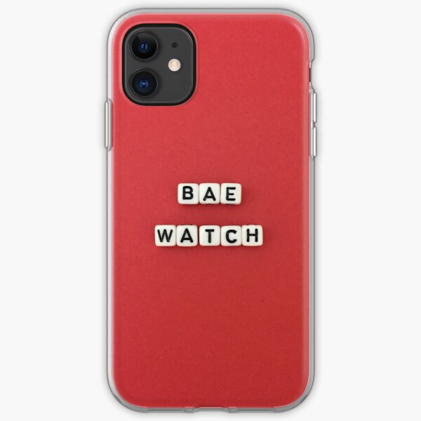 BAE watch iPhone Soft Case