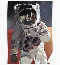 Póster Astronauta