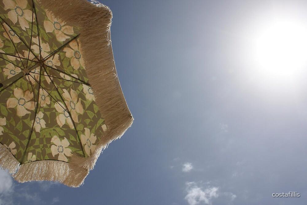 Beach Umbrella Shine by costafillis