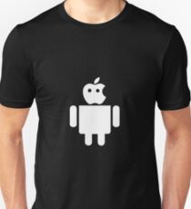apple droid Unisex T-Shirt
