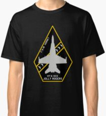 """VFA-103 """"Jolly Rogers"""" F/A-18 Hornet Patch style design Classic T-Shirt"""