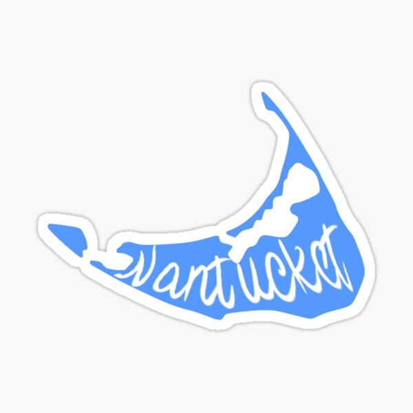 Nantucket Blue Island Sticker