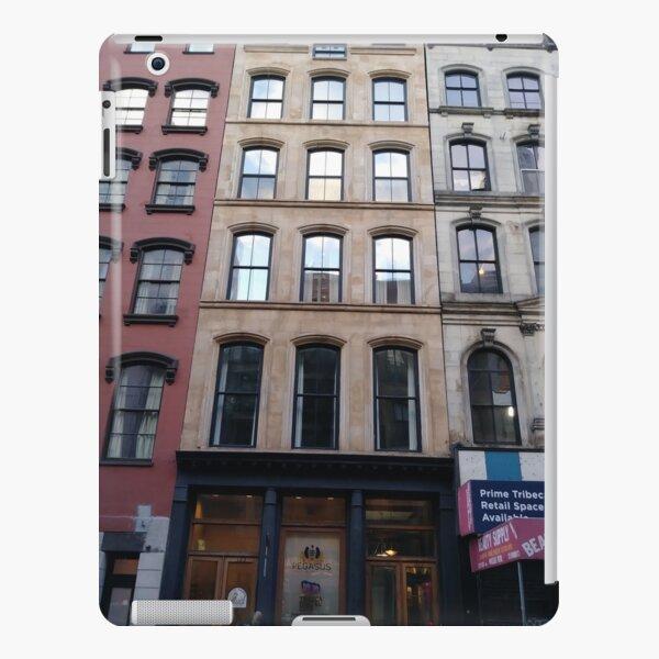 Street, City, Buildings, Photo, Day, Trees iPad Snap Case