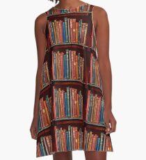 Mini library ~ of Classic books A-Line Dress