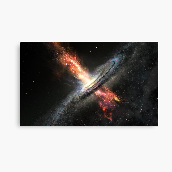 blackhole Quasar high quality image Canvas Print