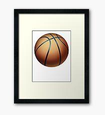 Basketball 1 Framed Print