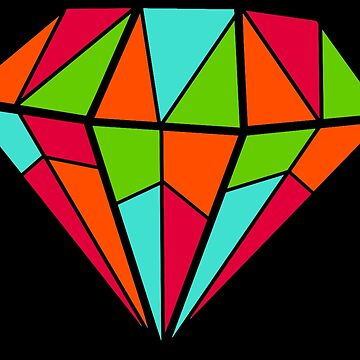 multicolored diamond by Myepicass