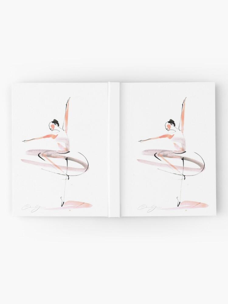 Alternate view of Ballet Dance Drawing Hardcover Journal