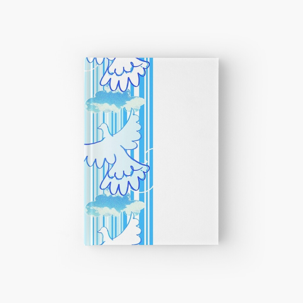 free - celebration of peace pattern Hardcover Journal