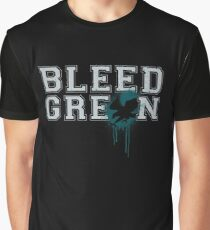 Bleed Green Philadelphia Eagles Football Fly Eagles Fly Tee Graphic T-Shirt