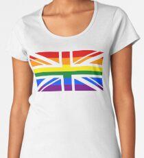 UK and Proud Women's Premium T-Shirt