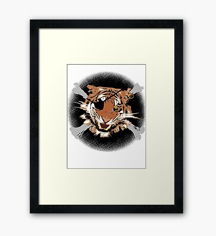 Jungle Piracy Framed Print