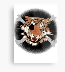 Jungle Piracy Metal Print