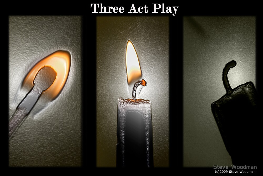 Three Act Play by Steve  Woodman