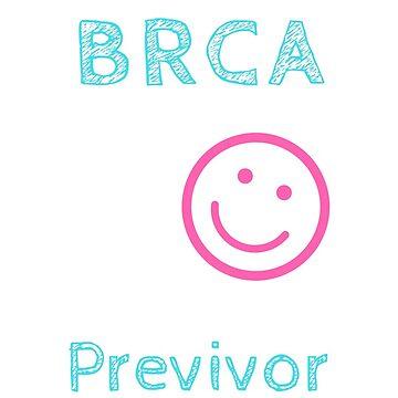 BRCA Previvor Shirt by RainyAZ