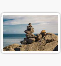 Rocks By The Sea Sticker