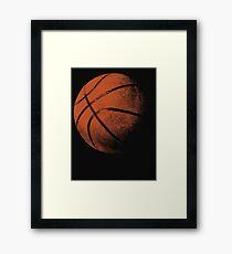 Basketball 3 Framed Print